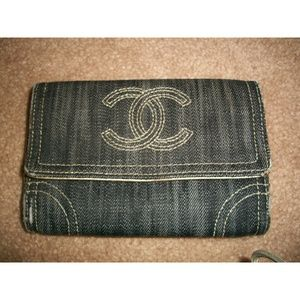 6fbe261c11983e CHANEL Bags | Authentic Denim Wallet | Poshmark
